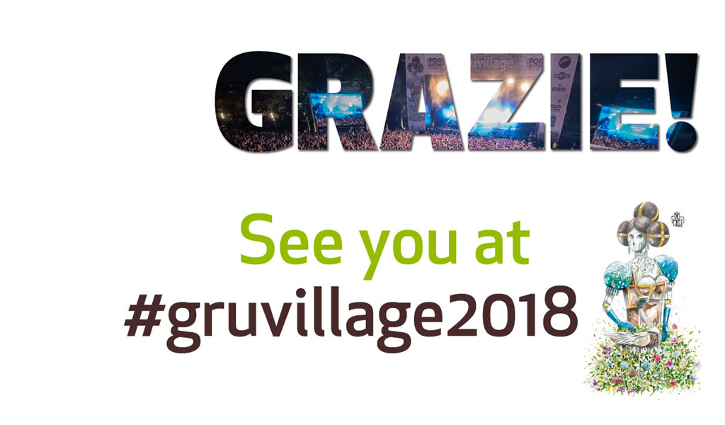 Grazie! See you at #gruvillage2018