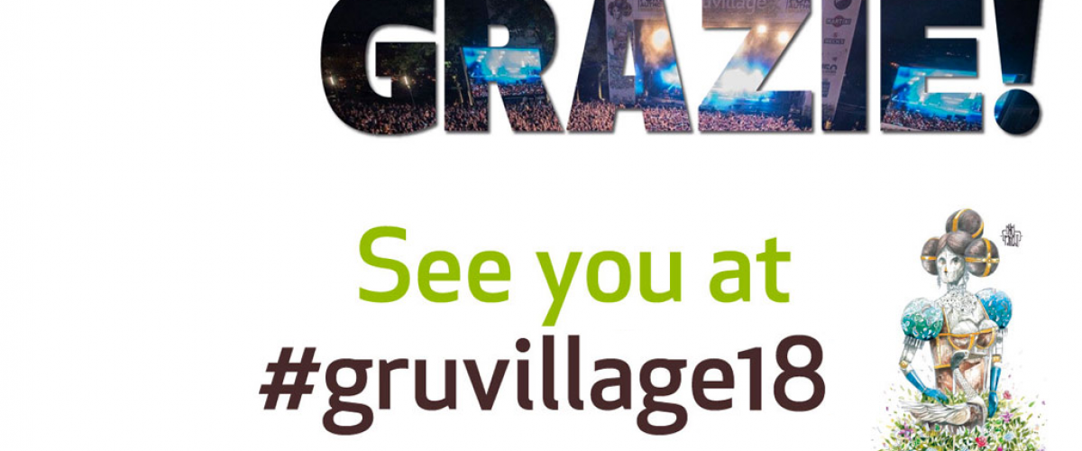 Grazie! See you at #gruvillage18
